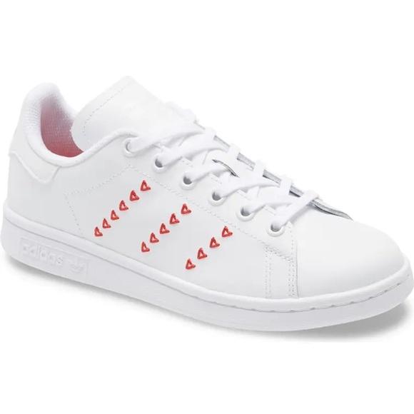 adidas stan smith heart sneaker